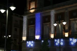 Cortina de Luces Navideñas - Porgesa