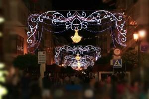 Iluminación de la Navidad - Porgesa