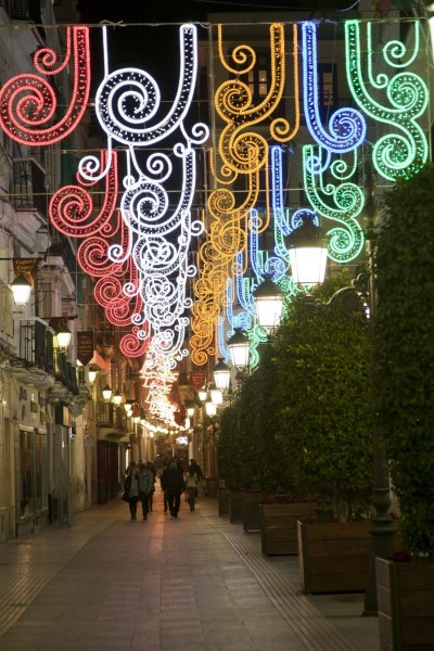 Alquiler de luces navideñas LED
