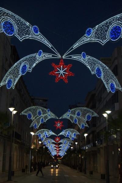 Alquiler de iluminación de navidad